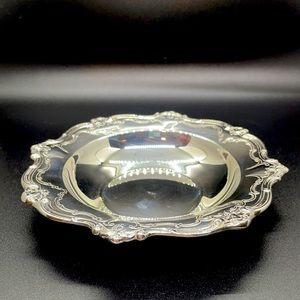 Chantilly Bon Bon Silver Plate Candy Bowl Serving